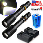 12000Lumen Police Tactical T6 LED High Powered 5 Modes Zoomable Flashlight Torch