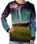 Spectacular Fireworks Women's Long Sleeve Sweatshirts wb104 aco40491