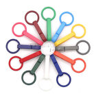 Colorful Gloves Hook Plastic Buckles Snap Hook With O-Ring