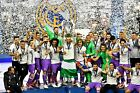 Real Madrid - Champions League Winners 2017 - A1/A2/A3/A4 Poster / Photo Print