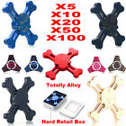 5/10/20/50/100 Lot Totally Alloy Tri Fidget Hand Spinner Triangle Finger EDC Toy
