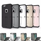 iphone7 & 7plus cover Shockproof Hybrid Armour Cover With Kickstand &Screen Case
