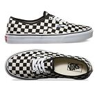 Vans Authentic Golden Coast Checkerboard Shoes Sneakers Black/White US Size 7-10