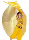 Kids isis wings Egyptian Belly Dance, close back, Free shipping to USA .