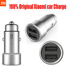 Original Xiaomi Roidmi Car Charger Dual USB Output Fast Charging Intelligent New