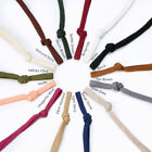 Sweatshirt Hoodie Flat Cotton Tape Ribbon Cord Rope,10 & 15mm,Garment Drawstring