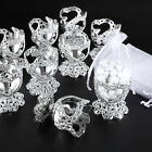 10x Communion Chalice W Organza Bags - Wedding / Birthday Party Gift Bag Favour