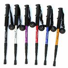 walking sticks - Pair 2 Trekking Walking Hiking Sticks Poles Adjustable Alpenstock anti-shock