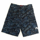 Nike Heritage Woven Men's Camoflauge Basketball Shorts Navy Blue 586591-408