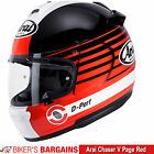"""Arai Chaser V """"Page Red"""" Was £399.99 - Now £289   (25% OFF!)"""