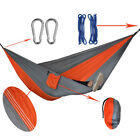 Outdoor Portable Double Person Hammock Camping Travel Sleep Nylon Parachute