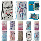 3D Leather Wallet Magnetic Smart Flip Case Cover for iPhone 5 6 7 Plus SE 6S 5S