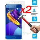 2x 9H Premium Tempered Glass Screen Protector Cover Film For Huawei Honor 9 2017