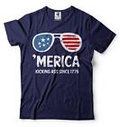 'Merica T-shirt USA 4th of July T-shirt Independence Day Fourth of July Tee