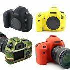 Soft Silicone Digital Camera Protect Body Cover Case Bag Skin For Canon 5D3 5DS