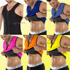 Sweat Tank Top Belly Fat Burn Abdomen Compression T-shirt Shapers For Men Slim