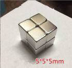 F5 X 5 X 5 mm powerful magnet ndfeb strong magnet steel small square