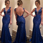 Womens Sexy Long Evening Party Ball Prom Gown Formal Bridesmaid's Cocktail Dress