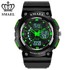 SMAEL LED Digital Watches Rubber Strap Sport Watch Student Electronic Wristwatch image