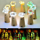 HA 2m 20 LED Cork Shaped LED Night Starry Light Wine Bottle Lamp Xmas Party