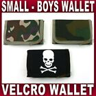 Boys SMALL sports WALLET skull camo camouflage army style sports kids children
