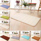 HA New Memory Foam Bath Mat Absorbent Slip-resistant Pad Bathroom Kitchen Mats