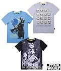 Star Wars T-Shirts 3 Styles Darth Vador Ages 6 - 13 Years