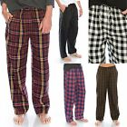 "TINFL Plaid Check Soft Flannel Lounge Mens WARM Long Pajama Pants ""PM 5st"" S-XL"