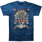 NEW KISS Cobo Hall Detroit Tie Dye Licensed Adult T-Shirt Size XL CLOSEOUT SALE!