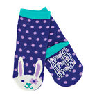 BNWT Hatley Girls Purple Bunny Socks NEW Christmas Stocking Filler Xmas Gift
