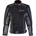 SPADA CORSA GP AIR WATERPROOF MOTORCYCLE SPORTS SUMMER MESH JACKET BLACK GREY