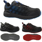 WOMENS LIGHTWEIGHT FASHION STEEL TOE CAP WORK SAFETY TRAINERS BOOTS SHOES GUARD