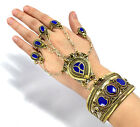 Slave Ring Bracelet Afghan Kuchi Chained Cuff Ethnic Belly Dance Bohemian Tribal