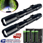 Tactical Police 20000Lumens XML T6 5Modes LED Flashlight Aluminum Torch Zoomable