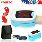 Finger Pulse Oximeter Portable Heart Rate SPO2 Monitor Blood Oxygen Meter Sensor фото