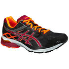 Asics Mens GEL-PULSE 7 Cushioned Running Sport Trainers Pumps Shoes Black/Orange