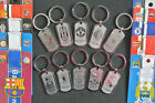 Soccer Souvenir Stainless steel Keychains Key Ring MADRID JUVENTUS BARCELONA CHE