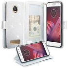 Motorola Moto Phone Models, Magnetic Fold w/Fold Stand Wallet Case Cover Clutch