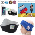 Wireless Stereo Bluetooth Run Headband Headset HandsFree For iPhone 7 Plus 6s