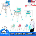4in1 Adjustable Baby High Chair Infant Toddler Feeding Seat Folding Highchair
