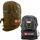 4 Compartments Zipped Adjustable Strapped Sport Rucksack Travelling Bag