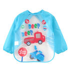 Newborn Toddler Baby Boy Girl Kids Feeding Bibs Waterproof Saliva Cartoon Towel