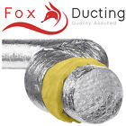 HYDROPONIC 10M ACOUSTIC LOW NOISE SOUND INSULATED DUCTING 4,5,6,8,10,12