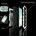 Fashion Patterned Shockproof Hybrid Rubber Hard Case Cover For Samsung Galaxy S8