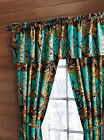 THE WOODS CAMO 5 PIECE CURTAIN SET 15 COLORS