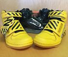 Reebok Alien Stomper Mid PL Final Battle Pack Black Yellow SZ 8-11 SHIPPING NOW