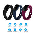 Bluetooth Smart Watch Wristband Bracelet Heart Rate Pedometer Fitness Tracker