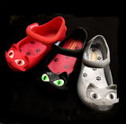 Kid Jelly Shoes For Cartoon Cat Kitty  Dress Up melissa Toddler Girl Boy Sandals