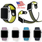 Replacement Sports Silicone Watch Band for Apple Watch Nike+ iWatch Series 2 /1