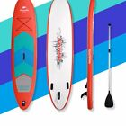 10'/11' Inflatable Stand Up Paddle Board with Paddle Travel Backpack Adjustable